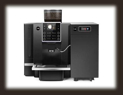 Koffiemachine voor de retail