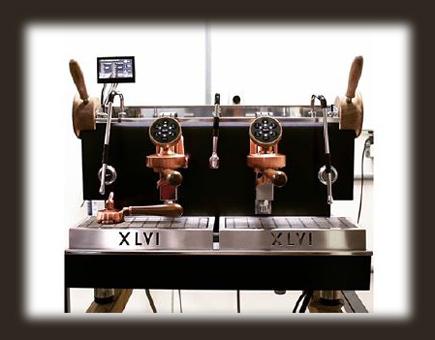 Koffiemachine voor de horeca